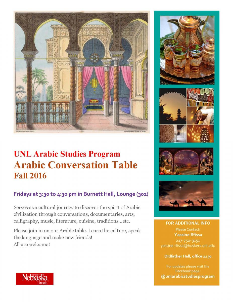 Arabic Language & Culture | Department of Modern Languages and